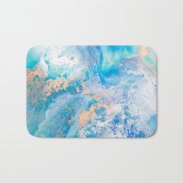 Into the Blue Lagoon Bath Mat