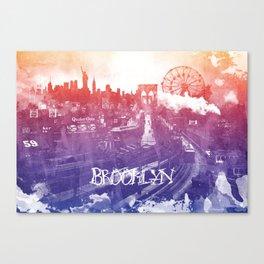 BrooklynToNY Canvas Print