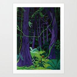 La Foresta Tropicale (Tropical Forest) Art Print