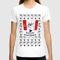 kentucky T-shirts featuring Kentucky Fried Unicorn by That's So Unicorny
