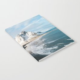 Iceland Mountain Beach - Landscape Photography Notebook