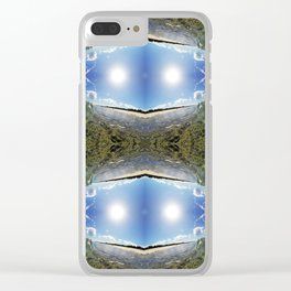 DOUBLE UP Clear iPhone Case