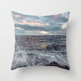 Last light of the day Throw Pillow