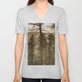 Mountain Forest New Mexico - Nature Photography Unisex V-Neck