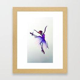 Ballet Color Framed Art Print