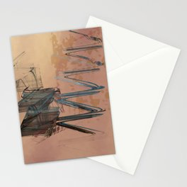 Academic Evocation Stationery Cards