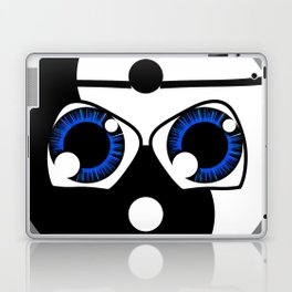 geeky yin yang Laptop & iPad Skin
