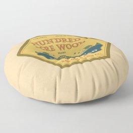 Hundred Acre Wood Honey Mead Floor Pillow