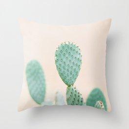 "Cactus photo print ""Botanical cactus"" Morocco   Modern Wall art   Pastel / Botanical Throw Pillow"