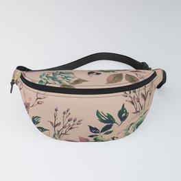 Lisianthus Pattern - Vintage Fanny Pack