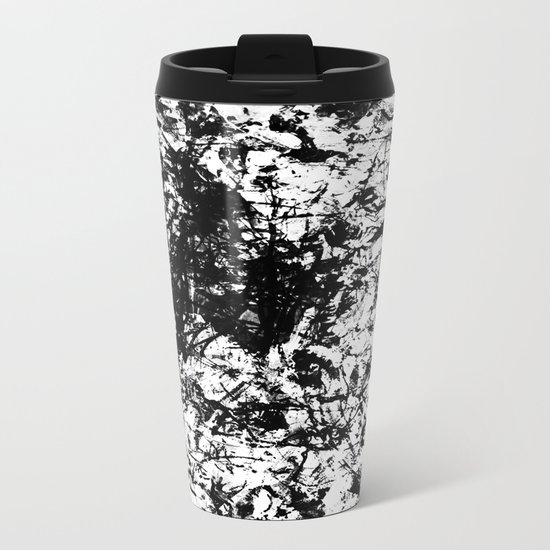 Crazy Bikers Metal Travel Mug