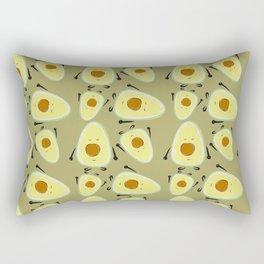 Avocado Patterns Rectangular Pillow