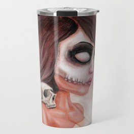 Deathlike Skull Impression Travel Mug