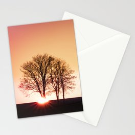powerful light of nature Stationery Cards