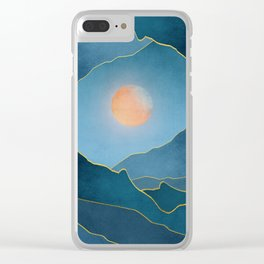 Surreal sunset 03 Clear iPhone Case