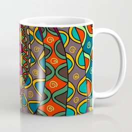 African Style No13, Tribal dance Coffee Mug