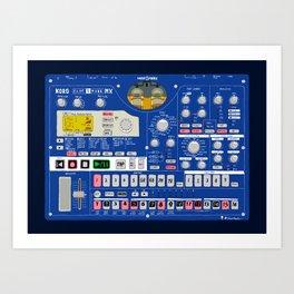 Korg Electribe EMX-1 Art Print