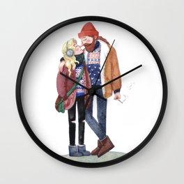 Scandinavian cuteness Wall Clock