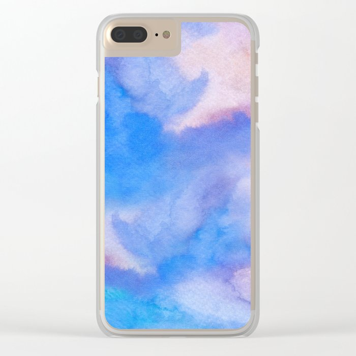A 0 9 Clear iPhone Case