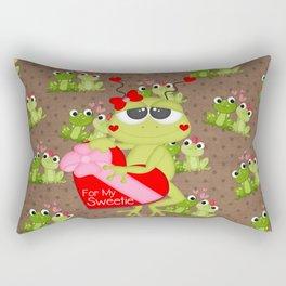 For My Sweetie Rectangular Pillow