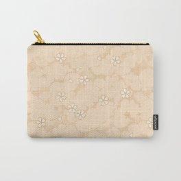Kumori Nochi Sakura: Orange Carry-All Pouch