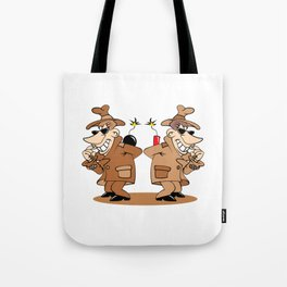 two spies Tote Bag