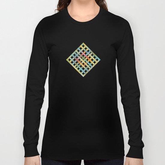 Beautiful, Colorful Stripes Long Sleeve T-shirt