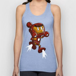 Super Iron Bomb Man Unisex Tank Top