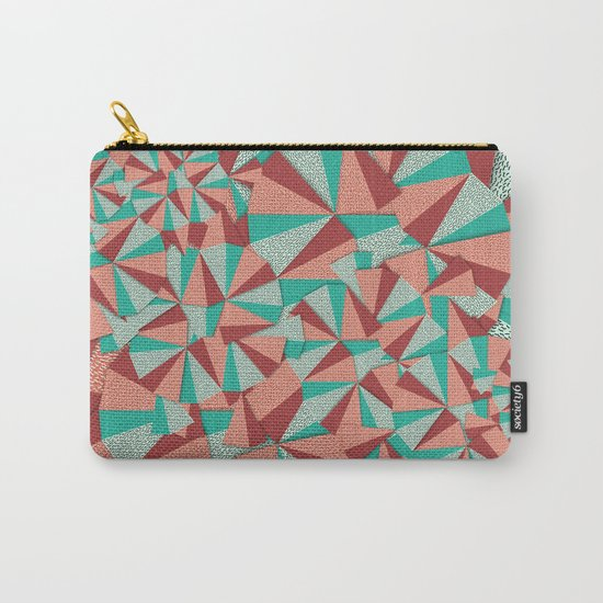 Marsala Pattern Carry-All Pouch