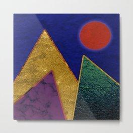 Abstract #424 Metal Print