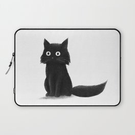 Sitting Cat (mono) Laptop Sleeve