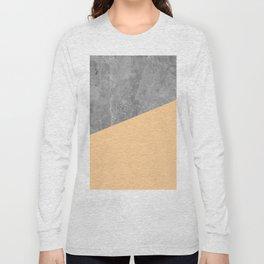 Geometry 101 Orange Sherbet Long Sleeve T-shirt