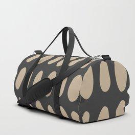 Brush Strokes Gold Duffle Bag
