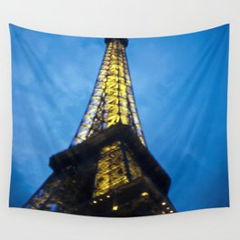 Eiffel Towering Wall Tapestry