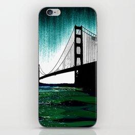Blacken Gate-San Francisco iPhone Skin