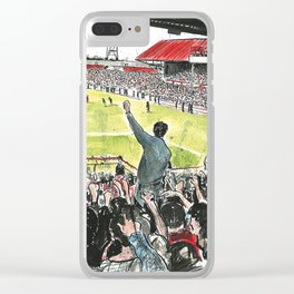 INSIDE THE HOLGATE Clear iPhone Case