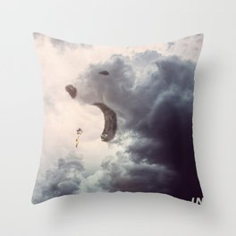 Bear Cloud // Infinite Throw Pillow