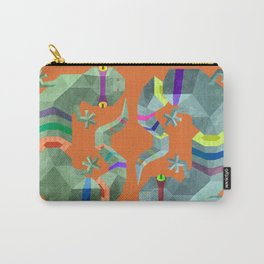 Polygonal gecko Carry-All Pouch