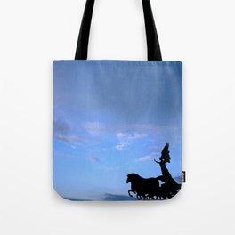 Sky chariot Tote Bag