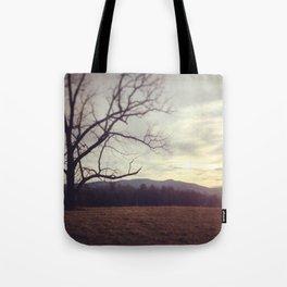 Golden Mountains Tote Bag