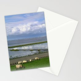 On the dike Stationery Cards