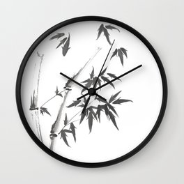 Leaves or Fishes? Wall Clock