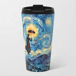 mary poppins Starry Night oil painting iPhone 4 4s 5 5c 6, pillow case, mugs and tshirt Travel Mug
