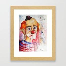 Le Clown de Joie-Ville Framed Art Print