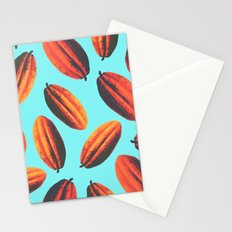 cacao fruit in New York Stationery Cards