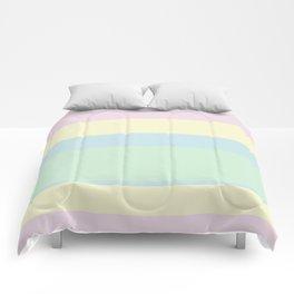 #EFDBE8 #F6F3CF #C7E5E9 #CFECD4 Comforters