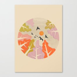 Daydreaming Canvas Print