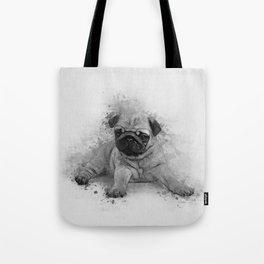 Pug Art Tote Bag