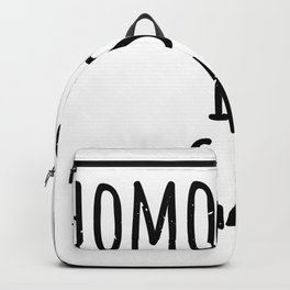 homophobia is gay is gay homophobia is uncool Backpack