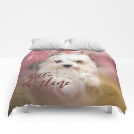 Hello Valentine Comforters